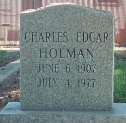 Charles Edgar Holman