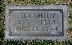 Ella Rebecca <i>Flippen</i> Miller