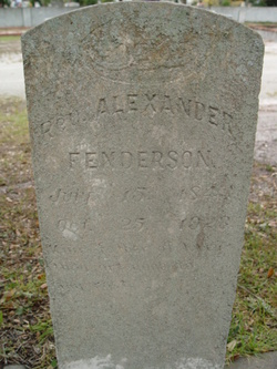 Alexander Fenderson, Rev