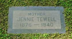 Jennie Clark <i>Doggett</i> Tewell