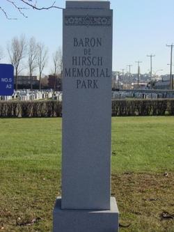 Baron De Hirsch Memorial Park