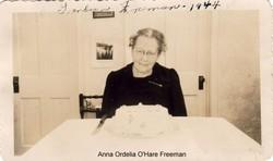 Anna Ordelia <i>O'Hare</i> Freeman