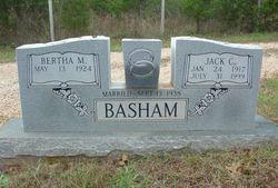 Bertha May <i>Huddleston</i> Basham