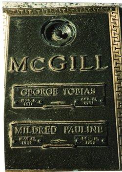 Mildred Pauline McGill
