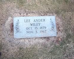 Lee Ander Wiley
