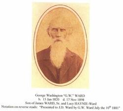 George Washington G.W. Ward
