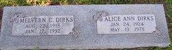 Alice Ann <i>Poole</i> Dirks