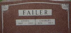 Ethel <i>Jones</i> Failer