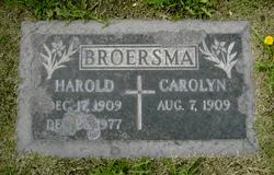 Carolyn M. <i>Dejong</i> Broersma