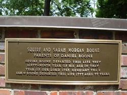 Sarah Jarman <i>Morgan</i> Boone