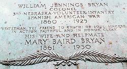 Mary Elizabeth <i>Baird</i> Bryan
