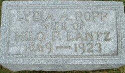 Lydia Ann <i>Ropp</i> Lantz