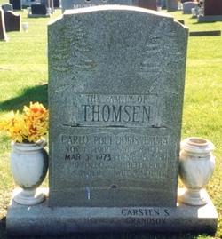 Doris Emma <i>Johnson</i> Thomsen
