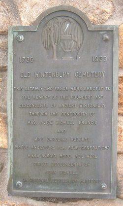 Old Wintonbury Cemetery
