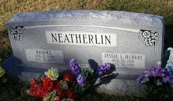 Jessie Lou <i>Hubert</i> Neatherlin