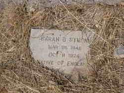 Sarah G. <i>George</i> Symons