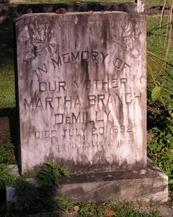 Martha Branch <i>Taylor</i> DeMilly