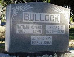 Johnnie May <i>Cone</i> Bullock
