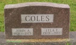 Lela E Coles