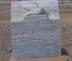 Alice Pearl Buffum