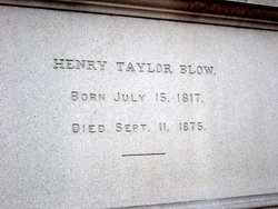 Henry Taylor Blow