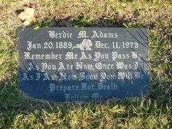 Berdie M. Adams