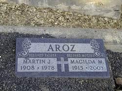 Magilda M. <i>Queirolo</i> Aroz