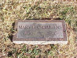 Mary <i>Barnett</i> Chambers