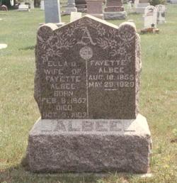 Ella A. <i>Campbell</i> Albee