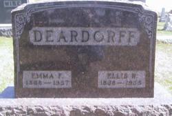 Emma F <i>Jenkins</i> Deardorff