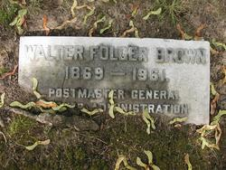 Walter Folger Brown
