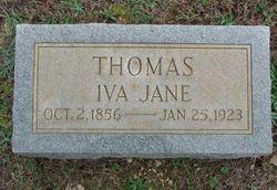 Iva Jane <i>White</i> Thomas