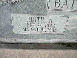 Edith A. <i>Rants</i> Batterman