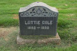 Lottie <i>Tomsky</i> Cole
