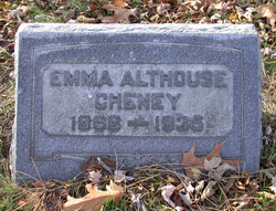 Emma <i>Althouse</i> Cheney