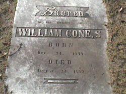 William Cone, Sr