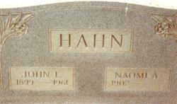 Naomi Alice <i>Ahalt</i> Hahn