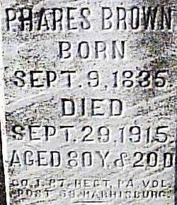 Phares F Brown