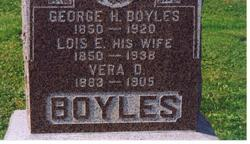 Vera D. Boyles