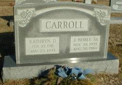 James Noble Carroll, Sr