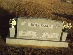 Aloysius J. Al Boeckman
