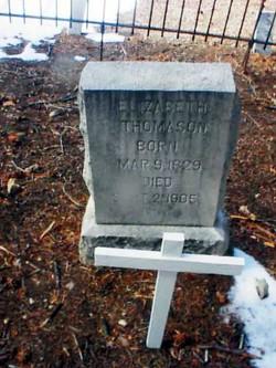 Elizabeth Jane <i>Stone</i> Thomason