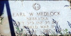 Pvt Earl W. Medlock
