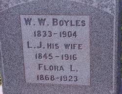 Flora L. Boyles
