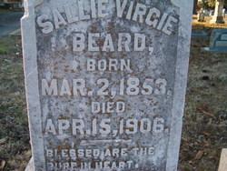 Sallie Virgie <i>Barham</i> Beard