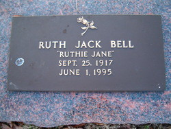 Bonnie Ruth Ruthie Jane <i>Jack</i> Bell
