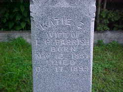 Elizabeth Katherine Katie <i>Wilkerson</i> Parrish