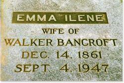 Emma Ilene <i>Snyder</i> Bancroft