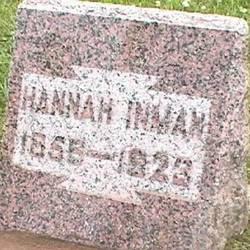 Hannah Elizabeth <i>Hadley</i> Inman