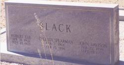 Celesta <i>Spearman</i> Black